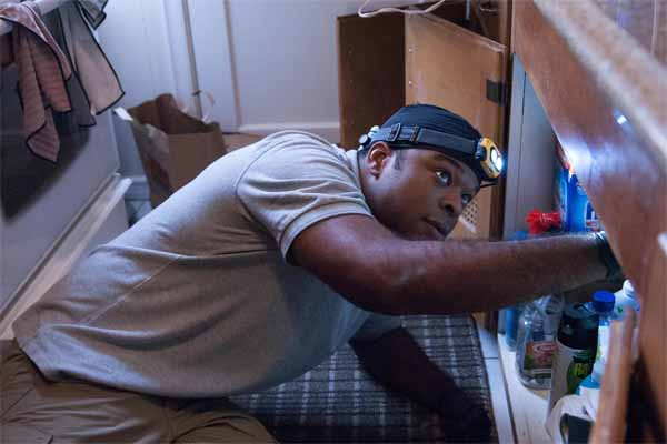 Boston area home inspections will include checking pipes for water leaks.
