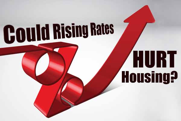 Boston area housing could be affected by rising interest rates.