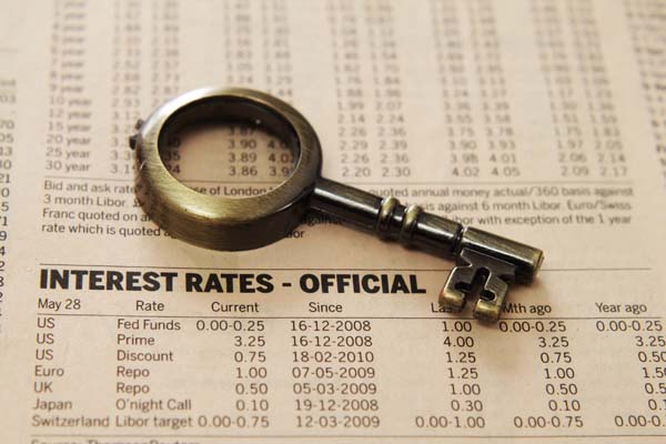 Boston area real estate interest rates have risen slightly over the past couple of months.